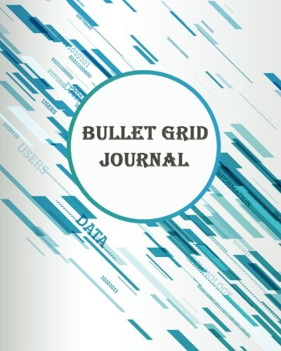 Bullet Grid Journal: Colorful Graphic : Bullet Grid Journal, 150 Dot Grid Pages (8