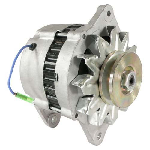 DB Electrical AHI0059 New Alternator For Yanmar Marine Diesel Hi-Output 80 Amp 3Jh2 3Jh3 4Jh2 4Jh3 4Lh 6Ly Kbw20 Lr180-03 Lr180-03C 3Jh2Be 3Jh2E 84150 112375 4-6278 LR180-03A LR180-03B 119573-77200
