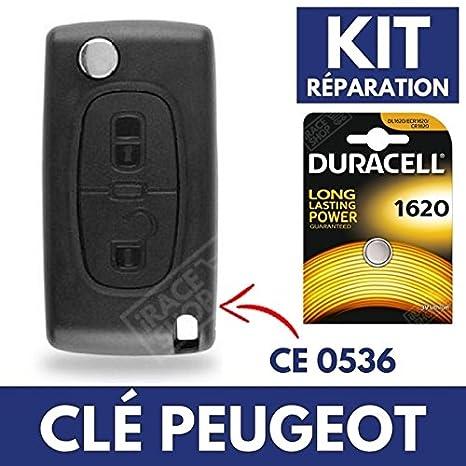Carcasa Jongo llave caja para mando a distancia Peugeot 308 ...
