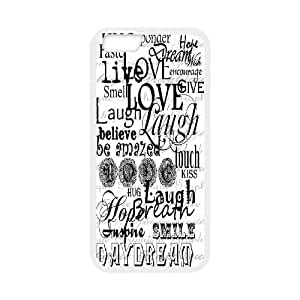 "Live Laugh Love iPhone6 4.7"" Cover, Live Laugh Love Personalizedized Cover Case, iPhone6 4.7"" Personalized Case"