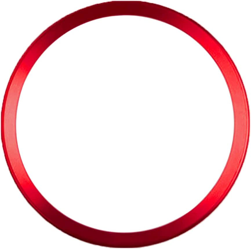 Vococal Auto Lenkrad Selbstklebend Center Ring Zierring Elektronik
