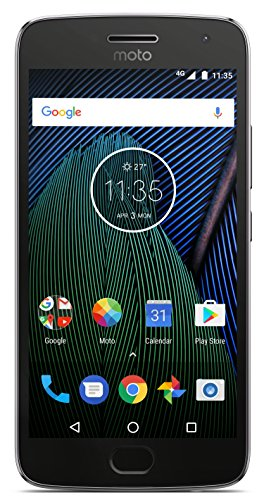 Moto G5 Plus (32GB, Lunar Grey)