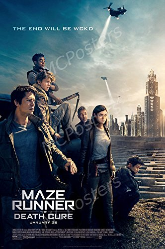 MCPosters - Maze Runner The Death Cure Movie Poster Glossy Finish - MCP056 (24