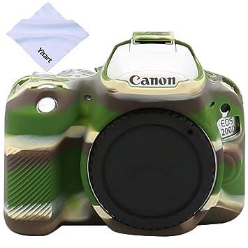 Yisau Canon EOS 200D 200DII - Carcasa para cámara Digital Canon ...