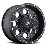 #1: Fuel Offroad Revolver Black Wheel (17x9''/8x6.5inches ,  -12mm Offset)