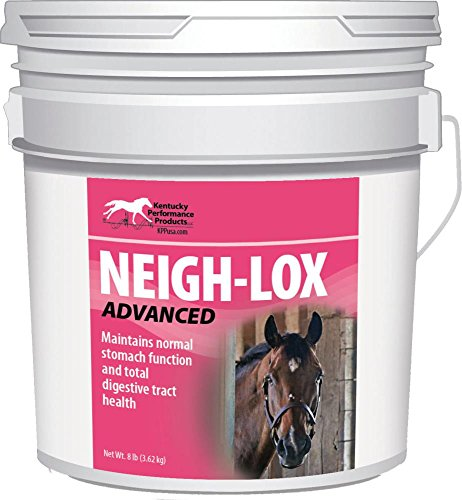 NEIGH-LOX ADVANCED DIGESTIVE SUPPLEMENT FOR HORSES - 8 POUND by DavesPestDefense