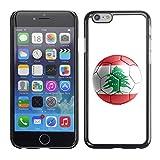 STPlus Lebanon Lebanese Soccer Football Ball Flag Hard Cover Case for Apple iPhone 7 Plus