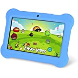Zeepad Kids TABZ7 Android 4.4 Quad Core Five Point Multi Touch Tablet PC, 7, 4GB, Kids Edition, Blue