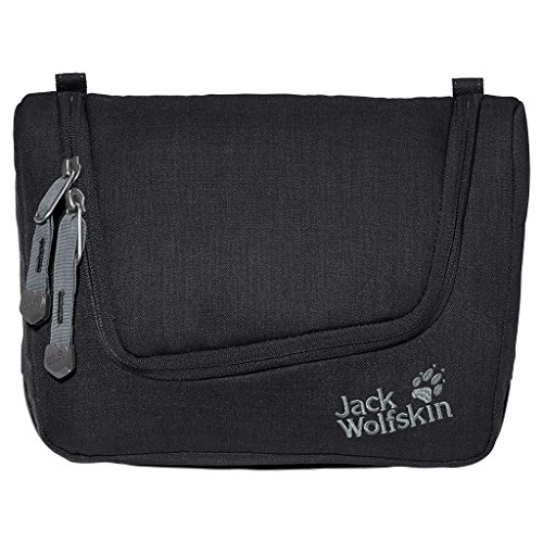 Jack Wolfskin, Beauty case Harbourfield, Nero (Black), Taglia unica