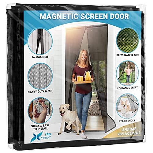 Puerta mosquiteros con cierre magnetico 97 x 208 cm