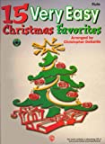 15 Very Easy Christmas Favorites for Piano, Alfred Publishing Staff, 0769209394