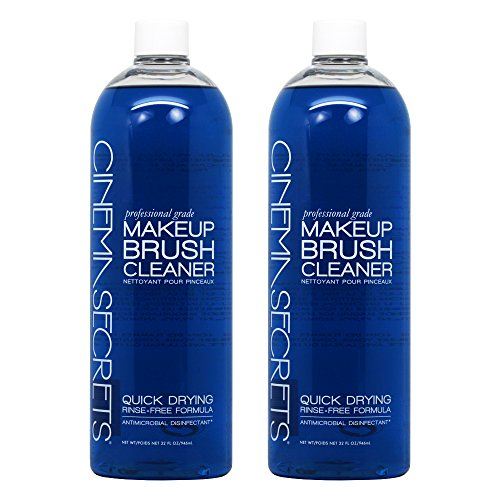- Cinema Secrets 32oz. Brush Cleaner (2 PACK - 64 oz's total)