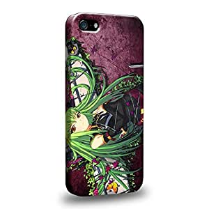 Case88 Premium Designs CODE GEASS Lelouch of the Rebellion C.C. 1268 Protective Snap-on Hard Back Case Cover for Apple iPhone 5 5s
