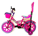Loop Bikes Aqua Pink Purple 14 Inches Semi Assembled Bicycle For 3 To 5 Age Group