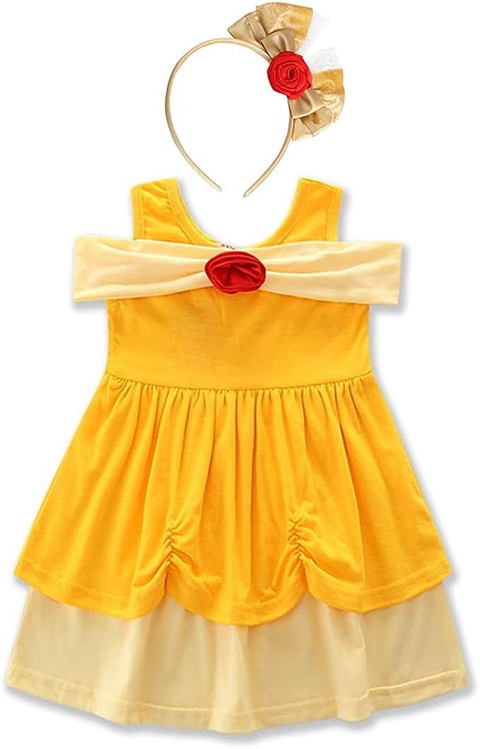 Amazon.com: Disfraz de sirena blanca de nieve para niñas y ...
