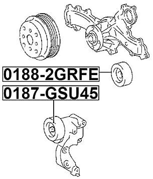 amazon febest toyota tensioner timing belt oem 16604 31010 2015 Toyota Avalon amazon febest toyota tensioner timing belt oem 16604 31010 automotive