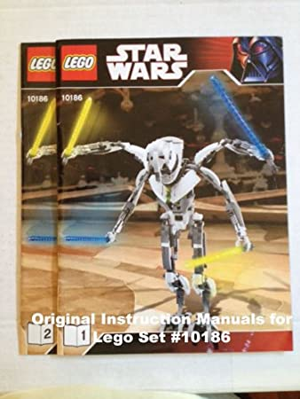 Amazon Instruction Manuals For Lego Star Wars Set 10186