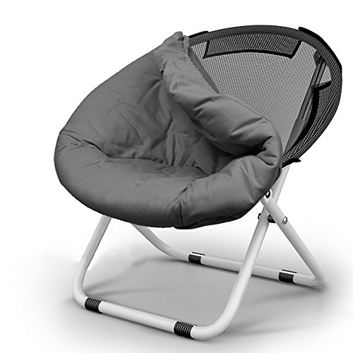 ZAYTY XRXY Creative Colorful Lounger Folding Chair/Casual Circular Adult Recliner/Household Removable Simple Sofa Chair (5 Colors Available)
