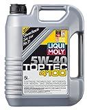 Liqui Moly (3701) 5W-40 Top Tec 4100 Low Ash Synthetic Motor Oil - 5 Liter Jug