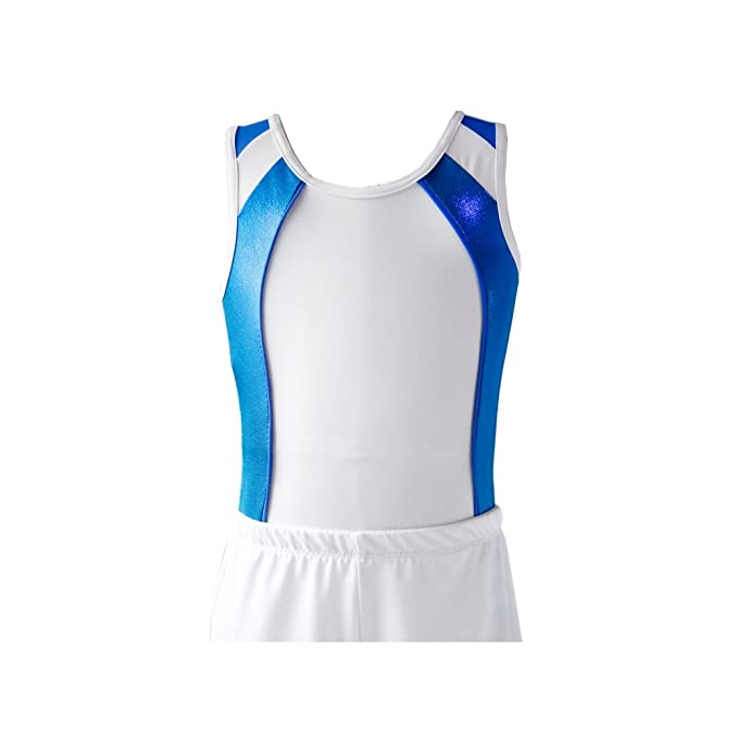 c01261d6bb44 Boy's Gymnastics Leotard Toddler Ballet Dance Practice Athletic Competition  Training Tank: Amazon.ca: Clothing & Accessories