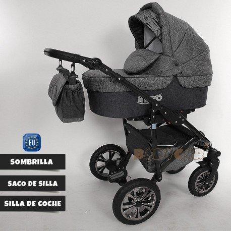 Compradetodobarato - Carrito para bebés 3 en 1 + muchos complementos. 11 colores diferentes: Amazon.es: Bebé