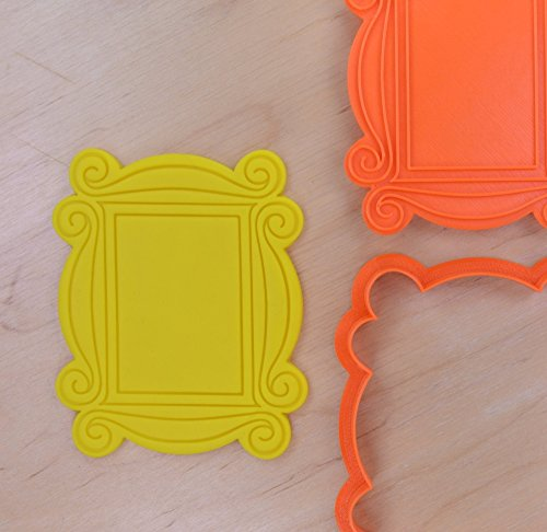 Monica's Peephole Door Frame Cookie Cutter and Stamp Set (2.6 x 3.2 inches) (Door And Frame Sets)