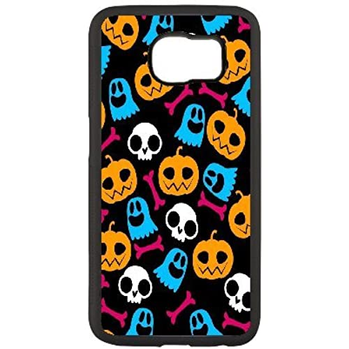 [UUCASE] Samsung Galaxy s7 [Extreme Protection] Black Cell Phone Cases with Halloween Pumpkin Head for Samsung Galaxy s7 (2016) Sales