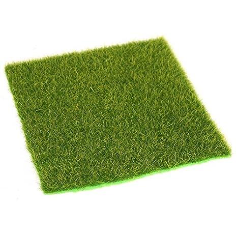 DIY Miniatur Rasen Garten Verzierung Gazechimp 50pcs K/ünstliches Gras