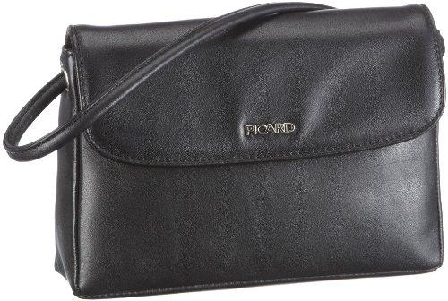 Really Picard 8035 - Shoulder Bag Leather Black Woman