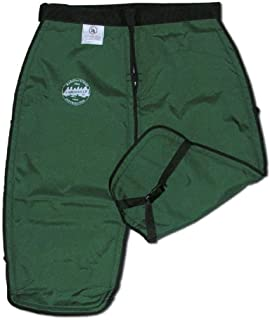 product image for Labonville Chainsaw Safety Chaps - Green Large