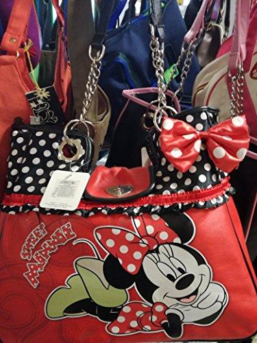 Mickey minnie bolso style horizontal polka