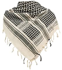 The shemagh, also known as the keffiyeh or Arab scarf, is a simple yet efficient way to protect your face and neck from sun, wind and sand.It also works well as alternative winter headwear, particularly in areas with snow and strong winds.Alt...