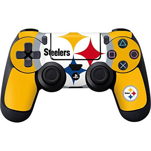 Skinit Pittsburgh Steelers Large Logo PS4 Controller