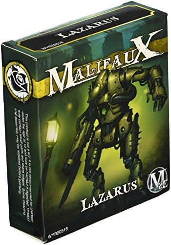 Wyrd Miniatures Malifaux Outcast Lazarus Model Kit 3