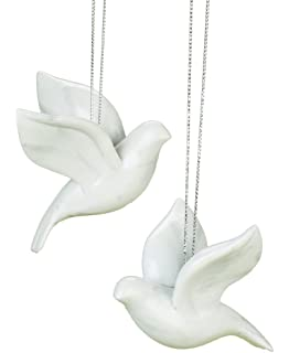 Turtle Dove Christmas Tree Ornaments