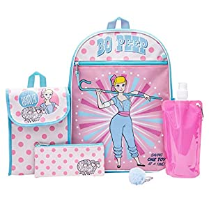 Toy Story Backpack Combo Set – Disney Toy Story Girls' 6 Piece Backpack Set