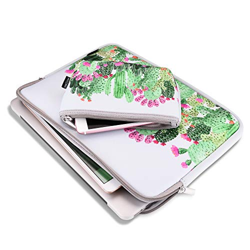 13 Inch Laptop Sleeve bag Macbook Air 13 Inch Sleeve Macbook Pro 13 Inch Protective Neoprene Sleeve Laptop Sleeve 13 Inch Electronics Accessories Organzier Bag Carry Case Pouch (13 Inch Cactus Sleeve)