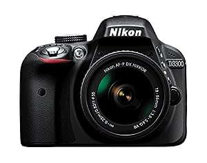 Nikon D3300 w/AF-P DX 18-55mm VR Digital SLR – Black