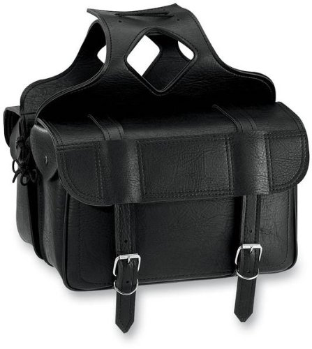All American Rider Flap-Over Saddlebag - 16.5in.L x 6in.W x 11in.H 3020