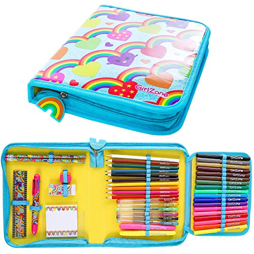 Gifts for Girls: Arts and Crafts for Girls - Cute Stationery Pencil Case - Great Birthday Gift -