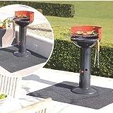 Floor Protective Rug, Fireproof Heat Resistant BBQ Gas Grill Splatter Mat Mat Backyard