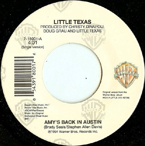 AMY'S BACK IN High material AUSTIN EXCERPTS FROM 4 RADIO SHOW shipfree COUNTRY WORLD