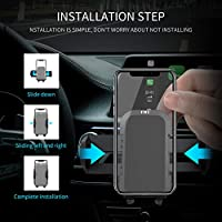 Air Vent Phone Holder for Car, FMU Universal Car Holder Phone Mount, Car  Air Vent Stand Cradle 360 Rotation Compatible with iPhone XR/XS  Max/XS/X/8/8