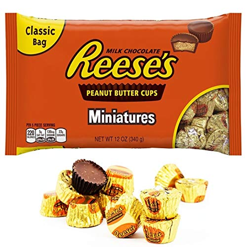 Reese S Peanut Butter Cups Miniatures 340 G Amazon In Grocery Gourmet Foods