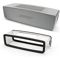 Bose SoundLink Mini II Pearl Bundle Bluetooth Speaker w/Charcoal Black Soft Cover