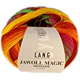 Lang Yarns Jawoll Magic Dégradé 059 Gelb/Orange/Rot/Pink/Grün