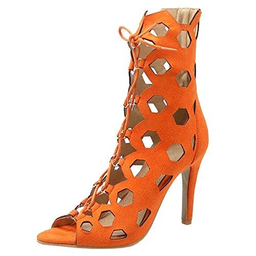 Naiset Saappaat Oranssi Sitoa Coolcept Kesä 1wqv0nnT