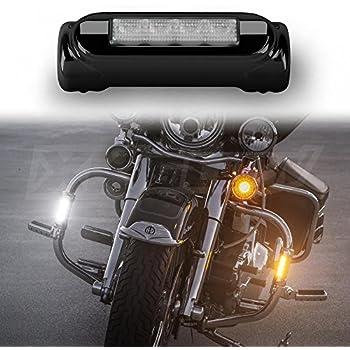 Amazon Com Xkglow Xk034014 B Black Motorcycle Highway Bar