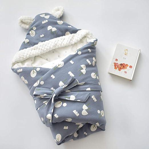 xiaoxi Saco de Dormir para bebés Grueso Invierno cálido 80 * 80 cm Manta de bebé Saco de Dormir edredón de Ropa de Cama recién Nacido: Amazon.es: Hogar