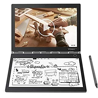 """2019 Lenovo Yoga Book C930 2-in-1 10.8"""" QHD Touchscreen Tablet Laptop Computer, Intel Core i5-7Y54 up to 3.2GHz, 4GB RAM, 128GB SSD, Active Pen, Touch E-Ink Keyboard, Fingerprint Reader, Windows 10"""